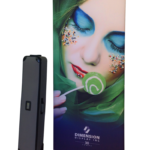 Feature Product:  DX3 Fabric Bannerstand