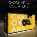 New! WaveLight® Casonara Backlit Counters