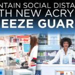 *NEW* Acrylic Sneeze Guards